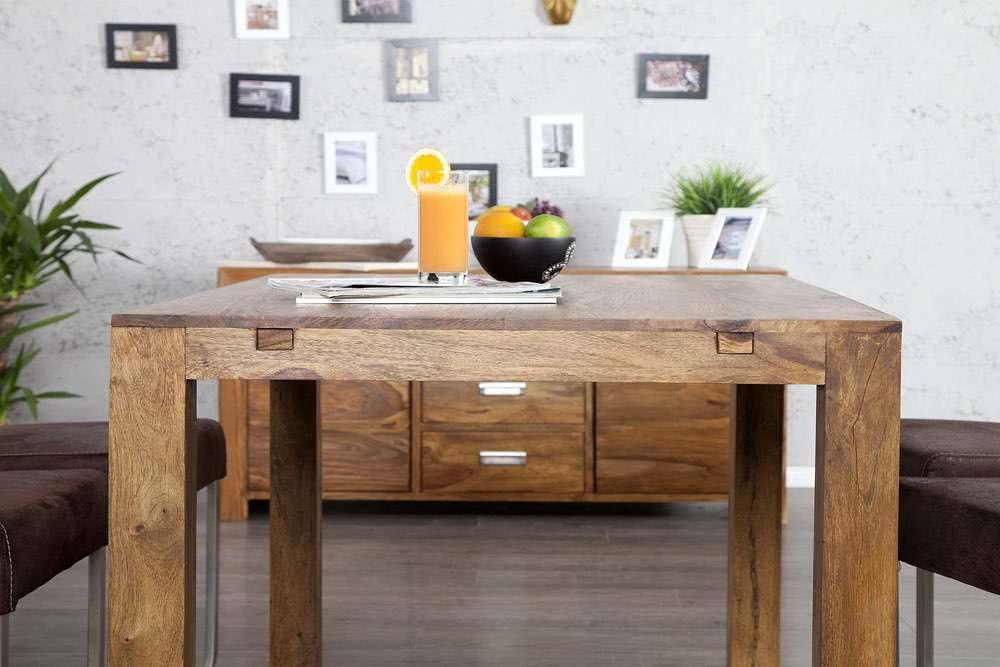 Széthúzható étkezőasztal masszív Las Palmas 120-200 cm