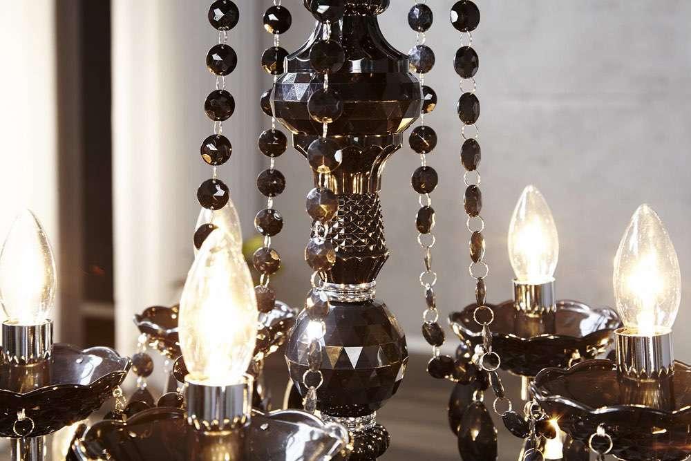 Luxus csillár Barisimo XL fekete