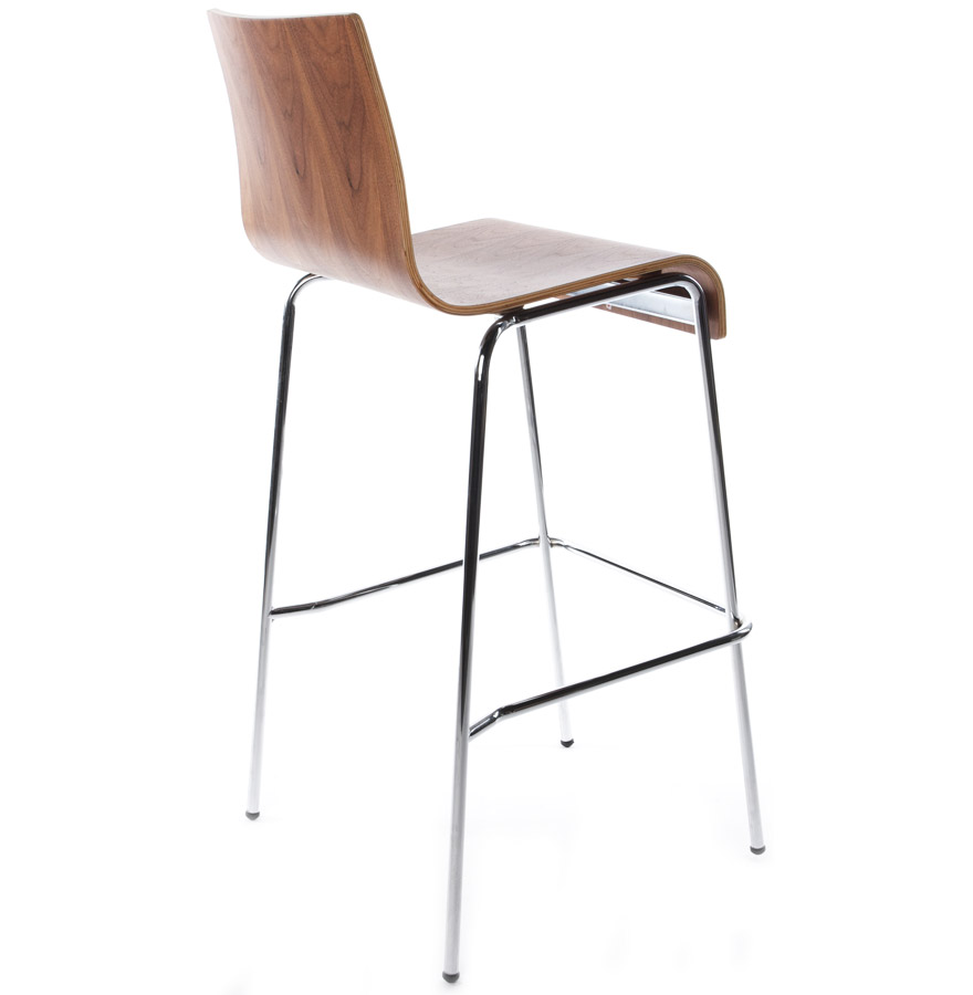 Modern bár szék Aiden dió