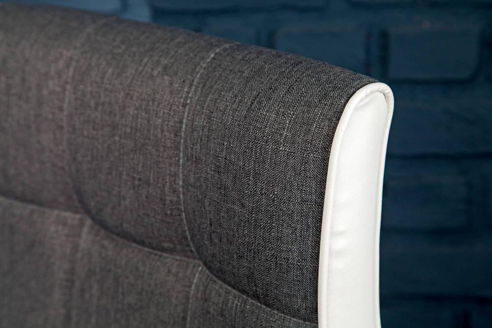 Stílusos bár szék Modern szürke - fehér