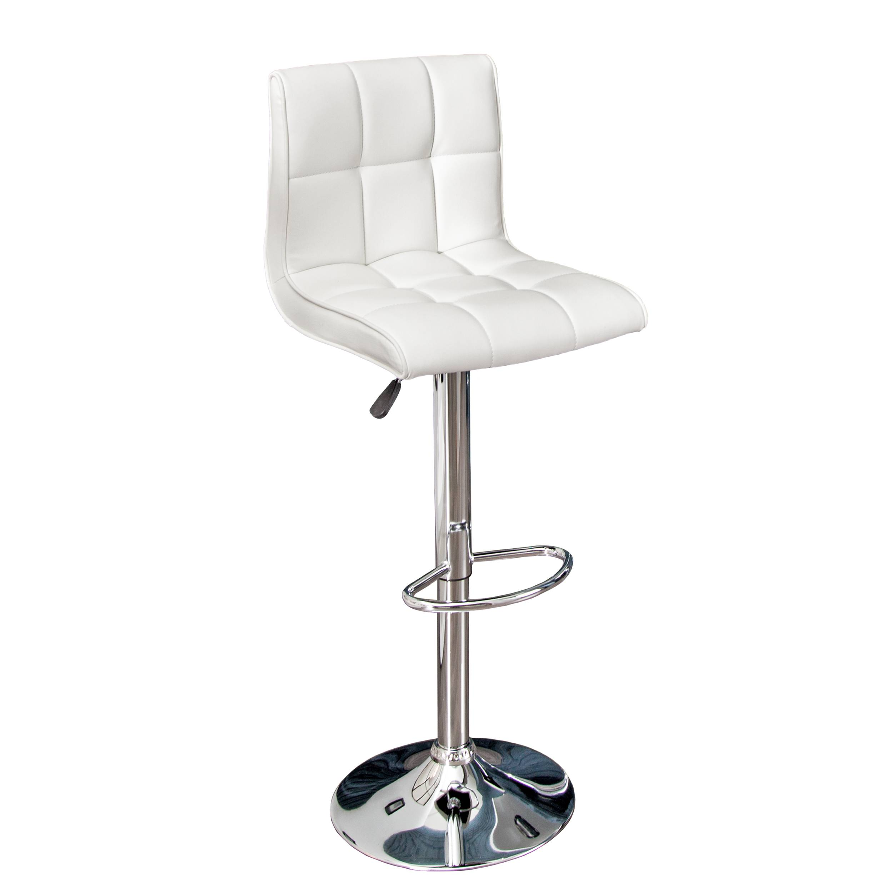 Stílusos bár szék Modern fehér