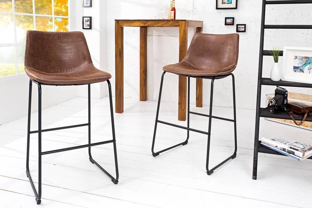 Stílusos bár szék Alba barna