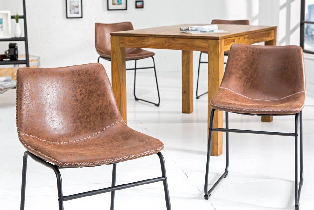 Stílusos szék Alba barna