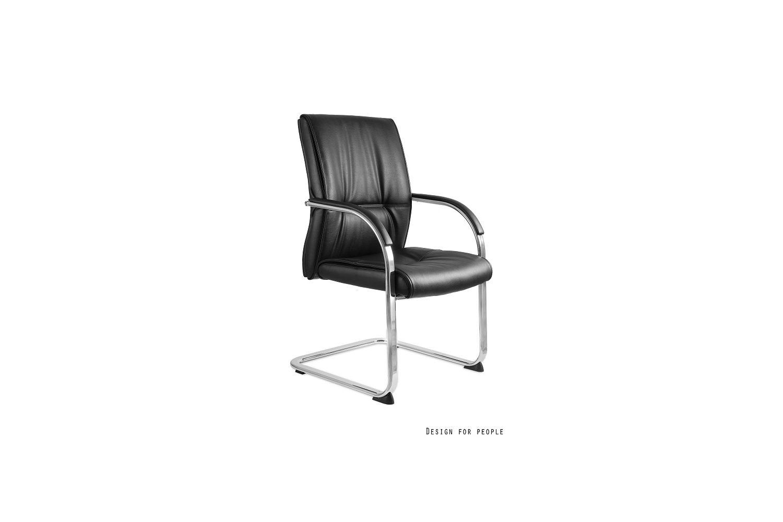 Irodai szék Brandon eko bőr - stabil