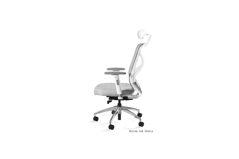 Irodai szék Harry szövet / fehér