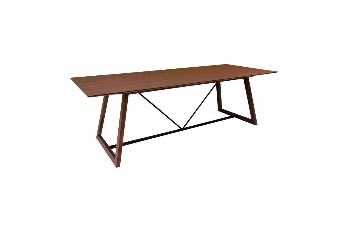 Stílusos étkezőasztal Miriam 240, dió