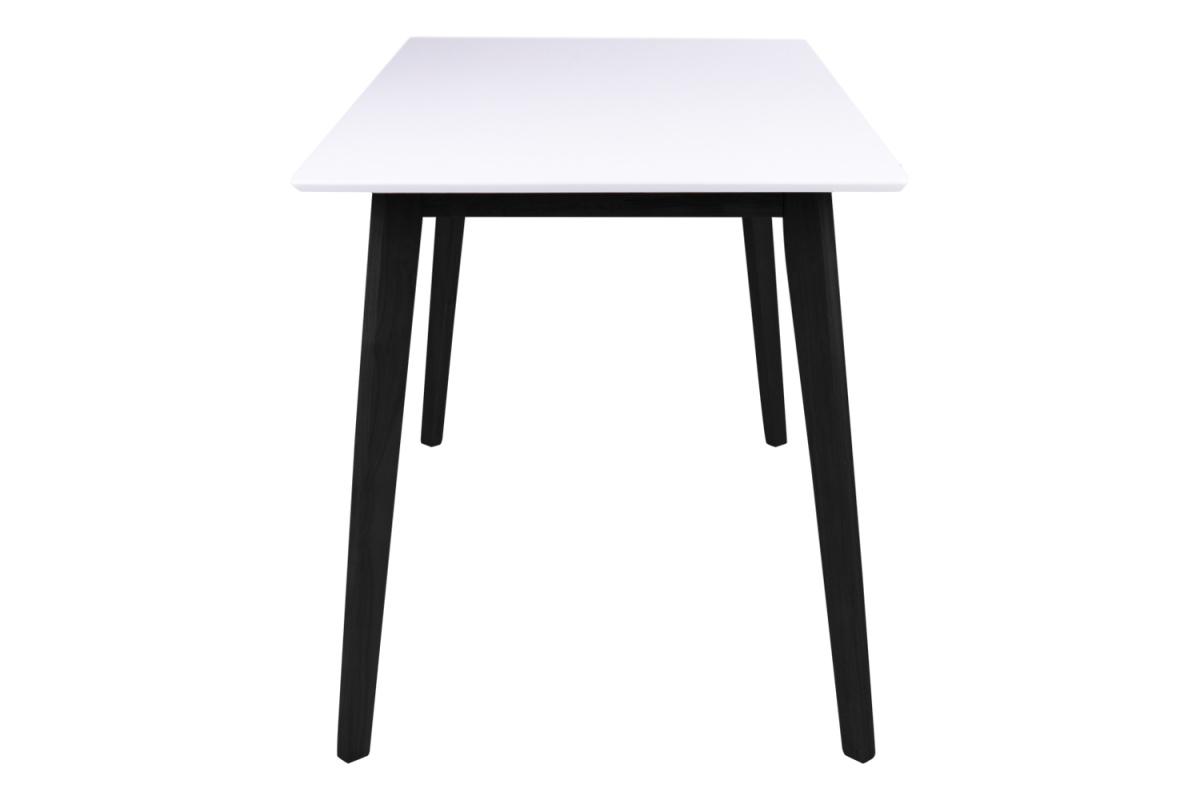 Stílusos étkezőasztal Carmen, fekete / fehér