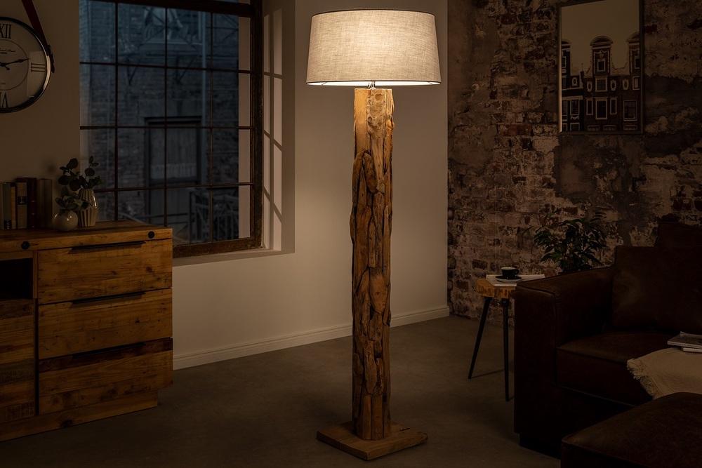 Design állólámpa Nash szürke