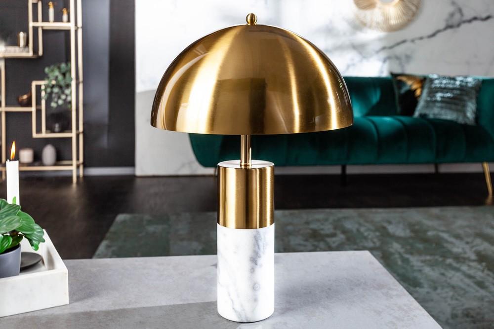 Design asztali lámpa Aamira 52 cm arany - raktáron SK 2db
