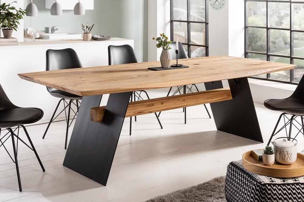 Design étkezőasztal Galeno 200 cm vad tölgy