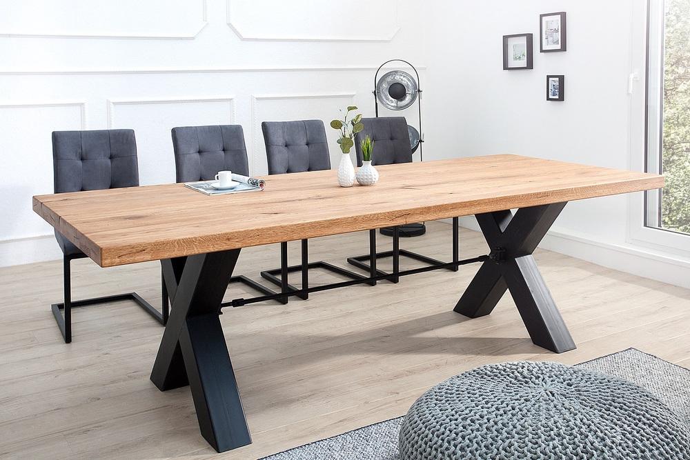 Design étkezőasztal Thunder 200 cm vad tölgy