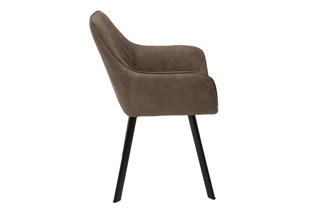 Design szék Francesca, szürke-barna taupe - Raktáron SK 2DB