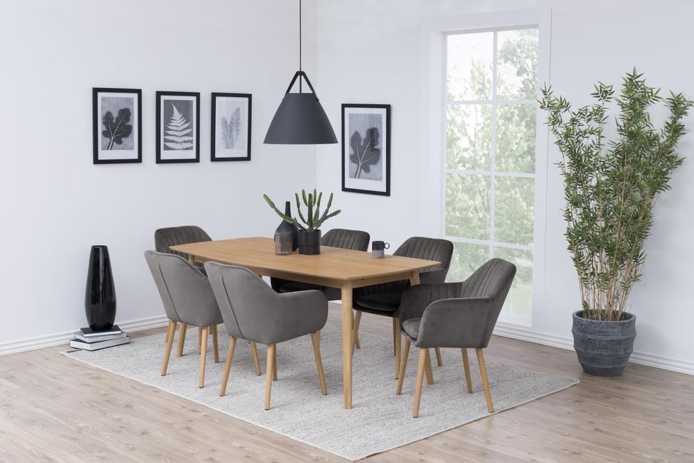 Stílusos szék Nashira - sötétszürke VIC - raktáron SK 8db