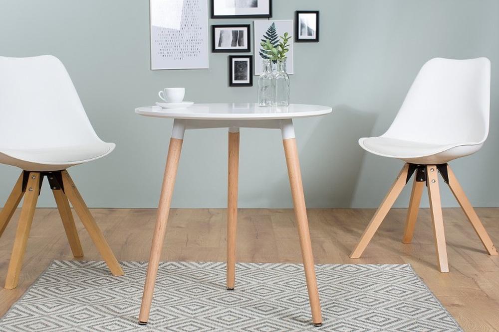 Bár asztal Sweden fehér 60 cm