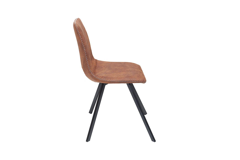 Stílusos szék Rotterdam Retro / barna