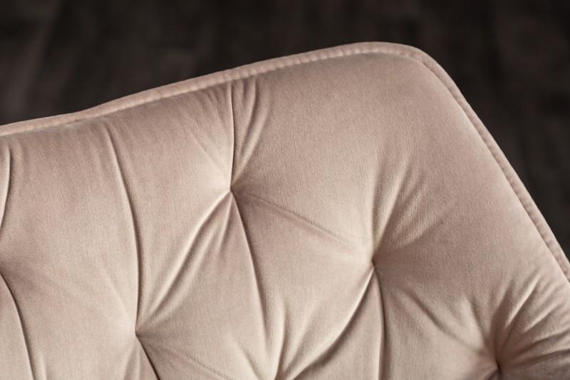 Stílusos szék Kiara szürke-bézs