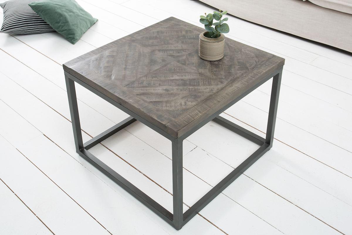 Kisasztal Allen szürke 60cm