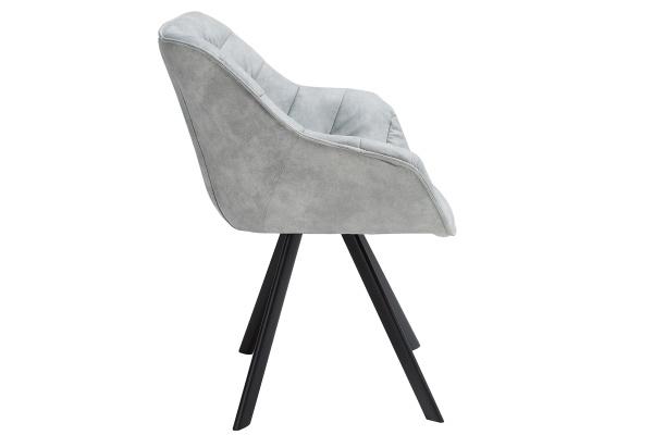 Stílusos szék Kiara szürke, antik