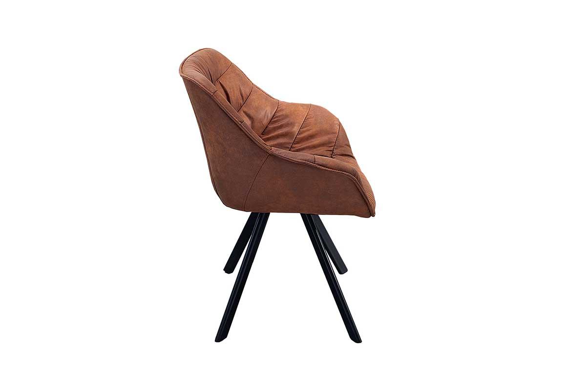 Stílusos szék Kiara barna, antik