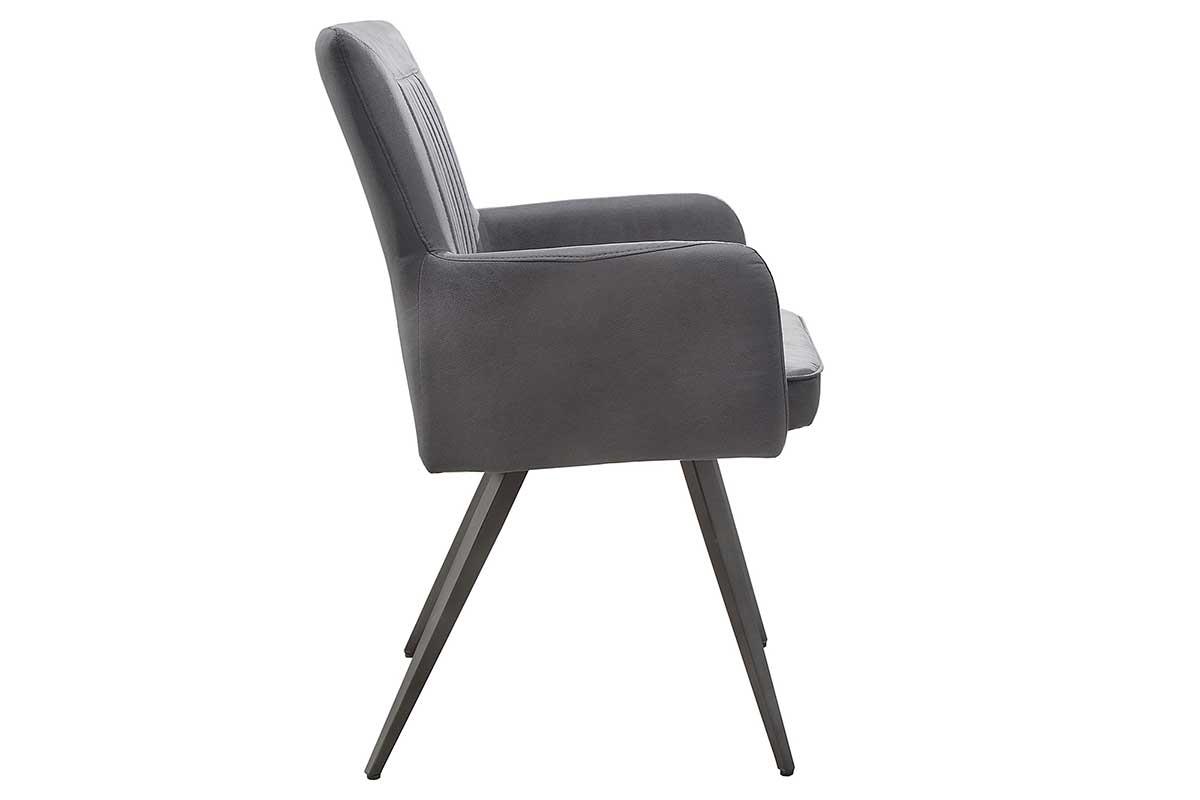 Stílusos szék Malik vintage szürke