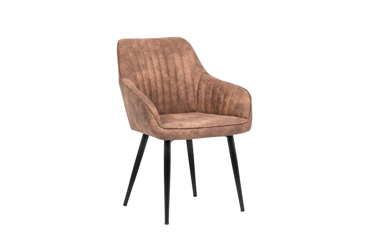Stílusos szék Esmeralda világos barna