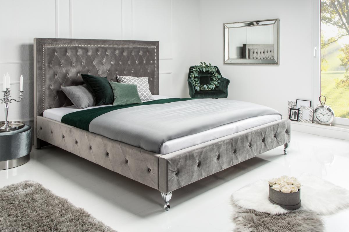 Ágy Spectacular ezüst 200 x 180cm