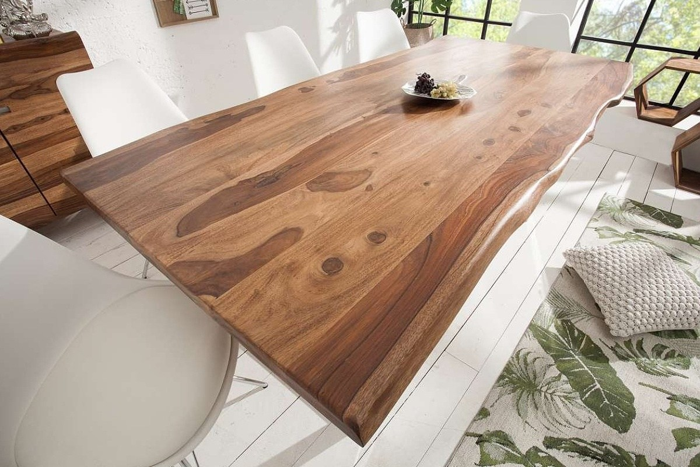 Luxus étkezőasztal Massive S 200 cm sheesham