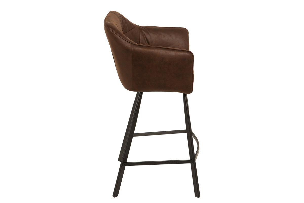 Stílusos bár szék Giuliana - antik barna