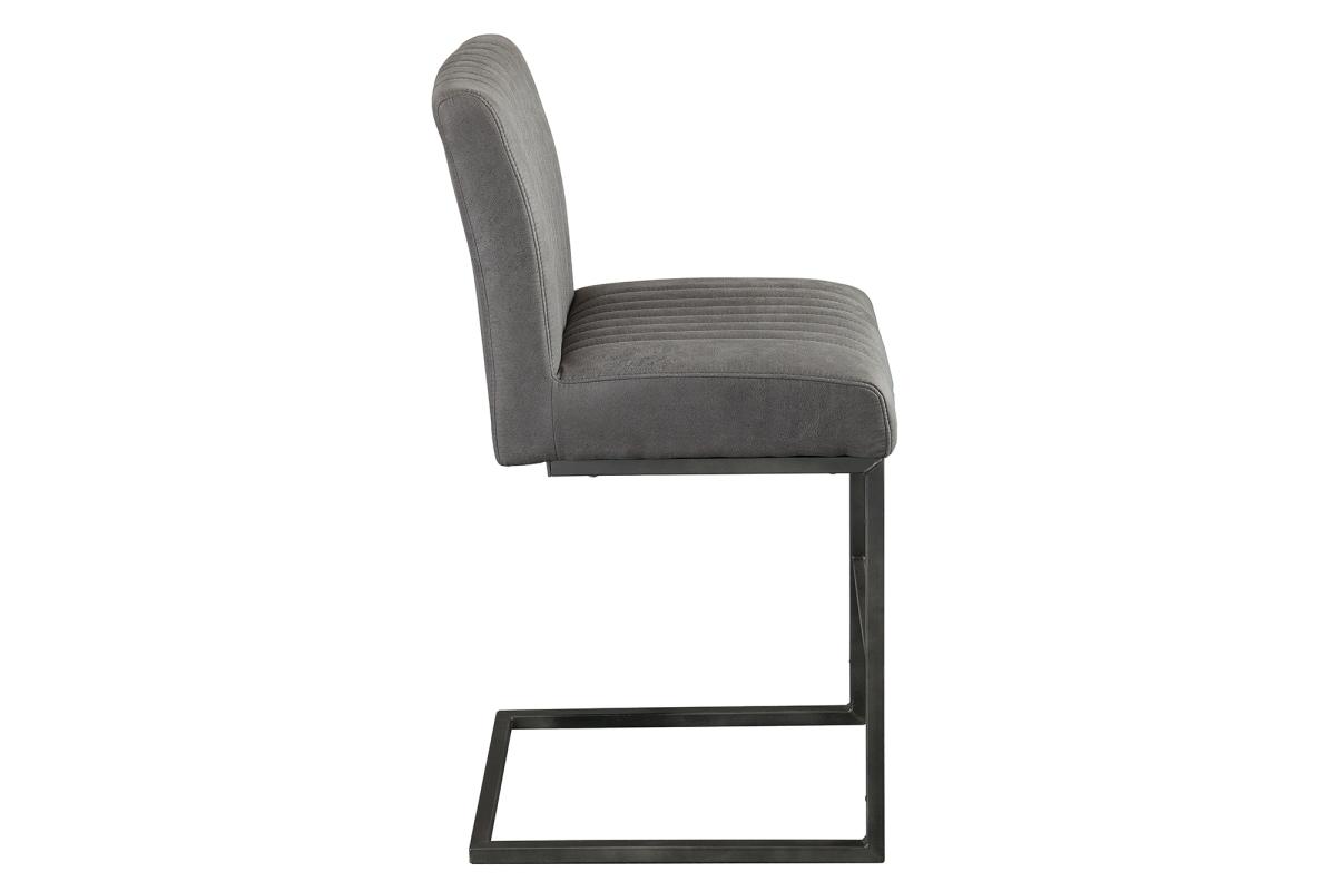 Stílusos bár szék Boss - antik szürke