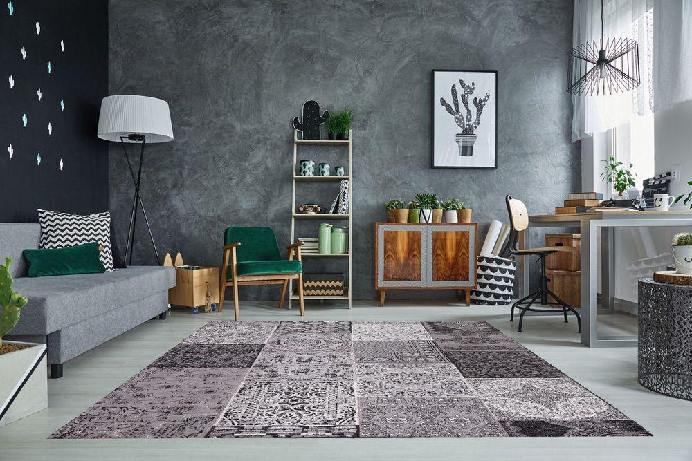Stílusos szőnyeg Lessie 240x160 cm / antracit