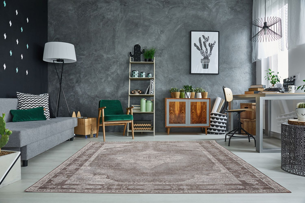 Stílusos szőnyeg Lessie II 240x160 cm /világos szürke
