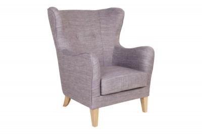 Stílusos fotel Julian, szürke