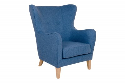 Stílusos fotel Julian, kék
