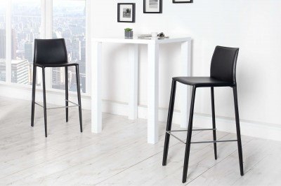 Modern bár szék Neapol fekete