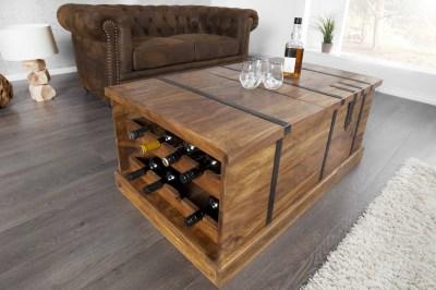 Luxus dohányzóasztal Winebar