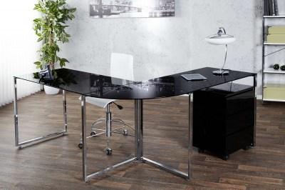Íróasztal Atelier fekete