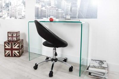 Üveg íróasztal Phantom