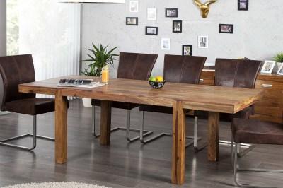 Luxus széthúzható étkezőasztal masszív 120-200 cm Las Palmas