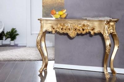 Luxus toalett asztal Veneto arany