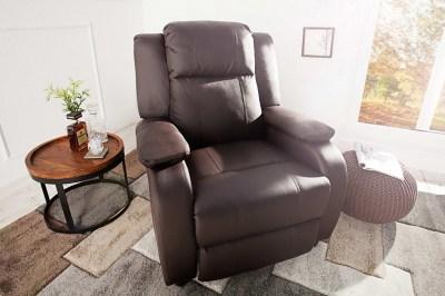 Luxus relax fotel Movie barna