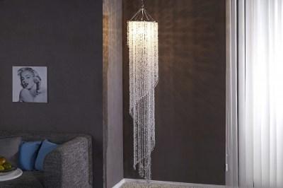Luxus függőlámpa Crystal