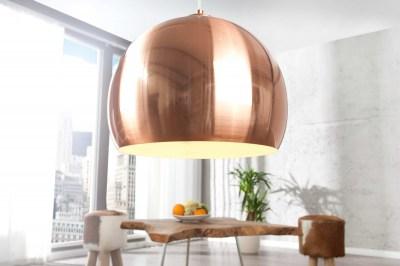 Stílusos lámpa Fuzz réz 30cm