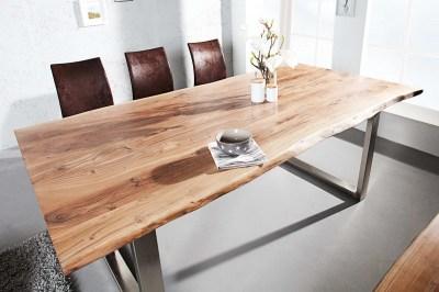 Luxus étkezőasztal Massive II 200 cm masszív akácfából
