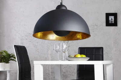 Függőlámpa Atelier fekete-arany
