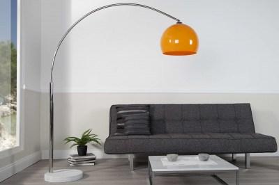 Stílusos állólámpa Arch narancssárga