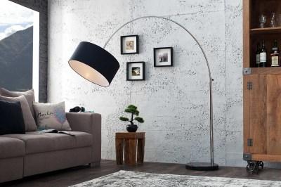 Stílusos állólámpa Arch fekete