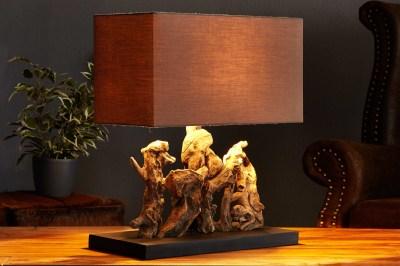 Asztali lámpa uszadékfából NATURE