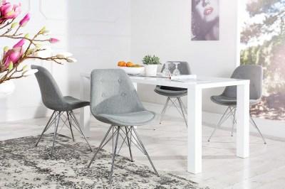 Stílusos étkezőszék Sweden NewLook Retro szürke