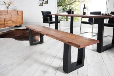 Luxus ülőpad masszív fából Evolution 160 cm