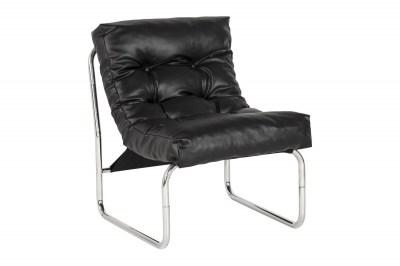 Stílusos fotel Bonde fekete